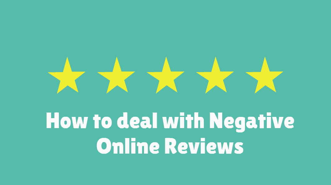 How to deal with a Negative Online Review